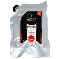 Пюре Апельсин красный Leonce Blanc Франция дой-пак, 1 кг.