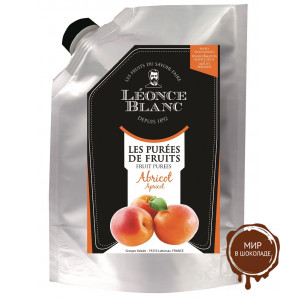 Пюре Абрикос Leonce Blanc Франция дой-пак, 1 кг.