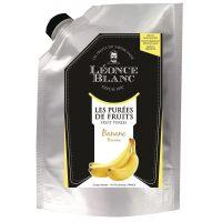 Пюре Банан Leonce Blanc Франция дой-пак, 1 кг.