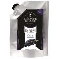 Пюре Смородина черная Leonce Blanc Франция дой-пак, 1 кг.