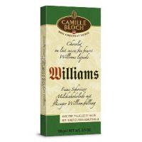 Молочный шоколад с грушевой водкой Williams, 100 гр.