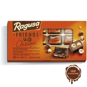 Молочный шоколад Ragusa Friends Classique в коробке 132 г