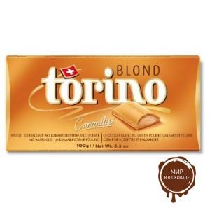 Белый шоколад Torino Blond с трюфельной начинкой, 100 гр