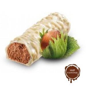 Батончики  MUNZ из белого шоколада с начинкой пралине, 23 гр.