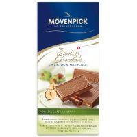 Молочный шоколад Изысканный лесной орех, Movenpick, 100 гр.
