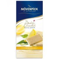 Белый шоколад с лимоном, Movenpick, 100 гр.