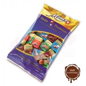 Набор-ассорти из горького и молочного шоколада Munz Неаполитаны, 400 гр.