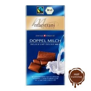 Молочный шоколад Maestrani, 80 гр.