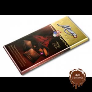 Горький шоколад MUNZ 70% какао, 100 гр.