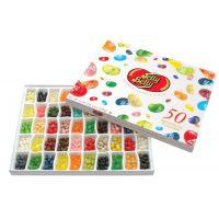 Драже жевательное Jelly Belly ассорти 50 вкусов 600 г подарочная коробка