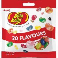 Драже жевательное Jelly Belly кислые фрукты 70 г пакет