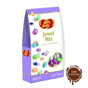 """Драже жевательное """"Jelly Belly"""" Jewel Collection 200 г картонная коробка"""