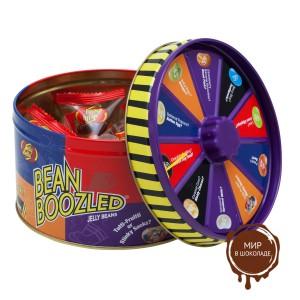 """Драже жевательное """"Jelly Belly"""" ассорти Bean Boozled 95г в жестяной банке с вращающимся диском"""