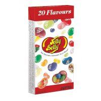 Драже жевательное Jelly Belly ассорти 20 вкусов, 100 гр. картонная коробка