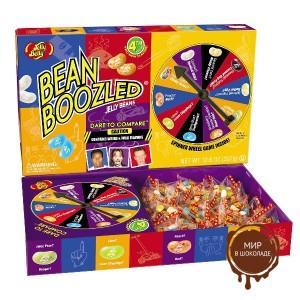 "Драже жевательное ""Jelly Belly"" ассорти Bean Boozled с вращ. диском"
