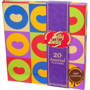 """Драже жевательное """"Jelly Belly"""" ассорти 20 вкусов 250 г коробка спец. выпуск"""