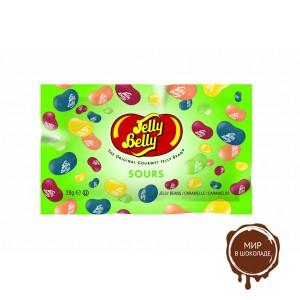 Драже жевательное Jelly Belly ассорти кислые фрукты, 28 гр. пакет