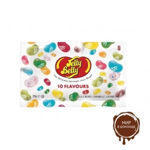 Драже жевательное Jelly Belly ассорти 10 вкусов 28 г пакет