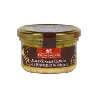 Галантин из утки с 20% фуа-гра в стекл. банке, 90 гр.