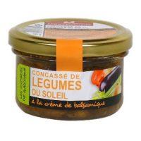 Конкассе из средиземноморских овощей с бальзамическим кремом, 90 гр.