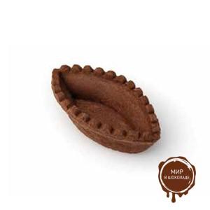 Лодочка шоколадная 67 мм., 250 шт.