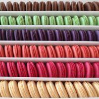 Печенье миндальное МАКАРУНС ассорти 6 цветов, 156 шт.