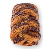 Шоколадно-ореховая плетенка 95 гр, 48 шт.