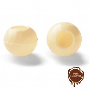 Трюфельные шарики из белого шоколада 25 мм., Callebaut, 504 шт.