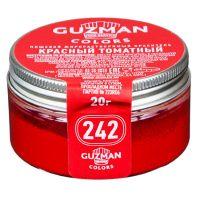 Краситель порошковый Guzman Красный томатный №242, 20 гр.