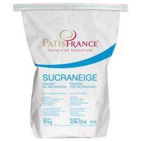 Снежный сахар нетающий крахмалосодержащий Patisfrance, 10 кг.