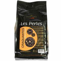 Хрустящие шарики Valrhona черный шоколад 55%, 3 кг.