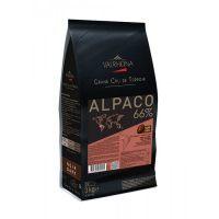 Горький шоколад Альпако 66% какао, Valrhona, 3 кг.