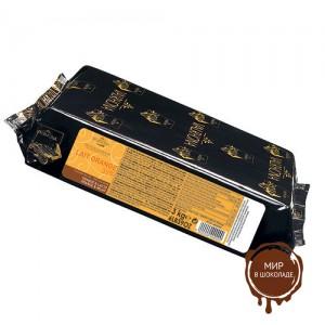 Ле Оранж блок из молочного шоколада с апельсиновым вкусом, VALRHONA, 3 кг.