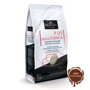 Горький шоколад Экстра Гуанара, 80% какао, Valrhona, 3 кг.