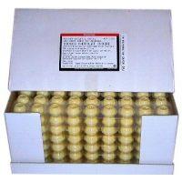 Шоколадные капсулы для трюфелей из белого шоколада Ивуар, диам. 2,5 см, вес 2,5 гр., 504 шт.