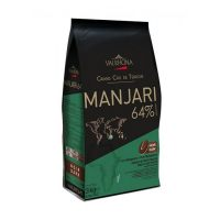 Горький шоколад Манжари, 64% какао, Valrhona, 3 кг.