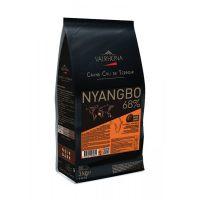 Горький шоколад Ниангбо, 68% какао, Valrhona, 3 кг.