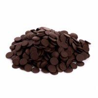 Темный шоколад в дисках, 54% какао, Бельгия, 10 кг.