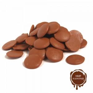 Молочный шоколад в дисках, 36% какао, Бельгия, 10 кг.