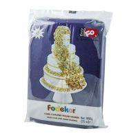 Сахарная мастика для покрытия и декорации фиолетового цвета FO Coating Dough Violet, 1 кг.