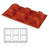 "Форма для выпечки HappyFlex - ""Пирамида"" (HF 03086), шт."