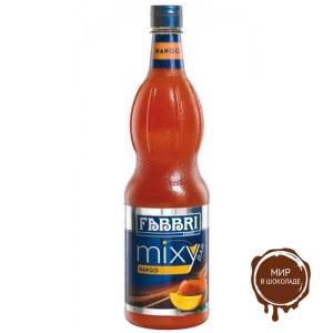 """Сироп Микси Бар манго """"FABBRI"""" 1л*6шт."""
