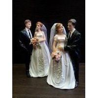 """Свадебная фигурка - """"Свадебная пара"""" (28501/p), шт."""