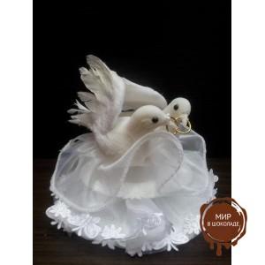 """Свадебная фигурка - """"Пара голубей"""" (28387/p), шт."""