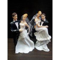 """Свадебная фигурка - """"Свадебная пара"""" (28417cN/p), шт."""