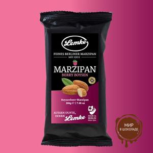 Паста сахарно-миндальная МАРЦИПАН Ежевика, 0,2 кг.