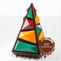 Форма для шоколада КАМЕННАЯ ЁЛКА KT194, 1 шт.