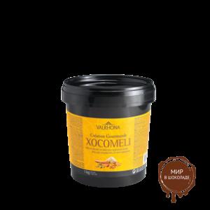 Чокомели - черный шоколад с пряничными специями, Valrhona, 1 кг.