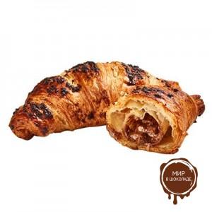 Круассан с шоколадом и фундуком 95 гр. Бельгия, 48 шт.