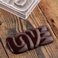 Форма для шоколадных плиток ПРЕЛЕСТЬ, короб 1 шт.